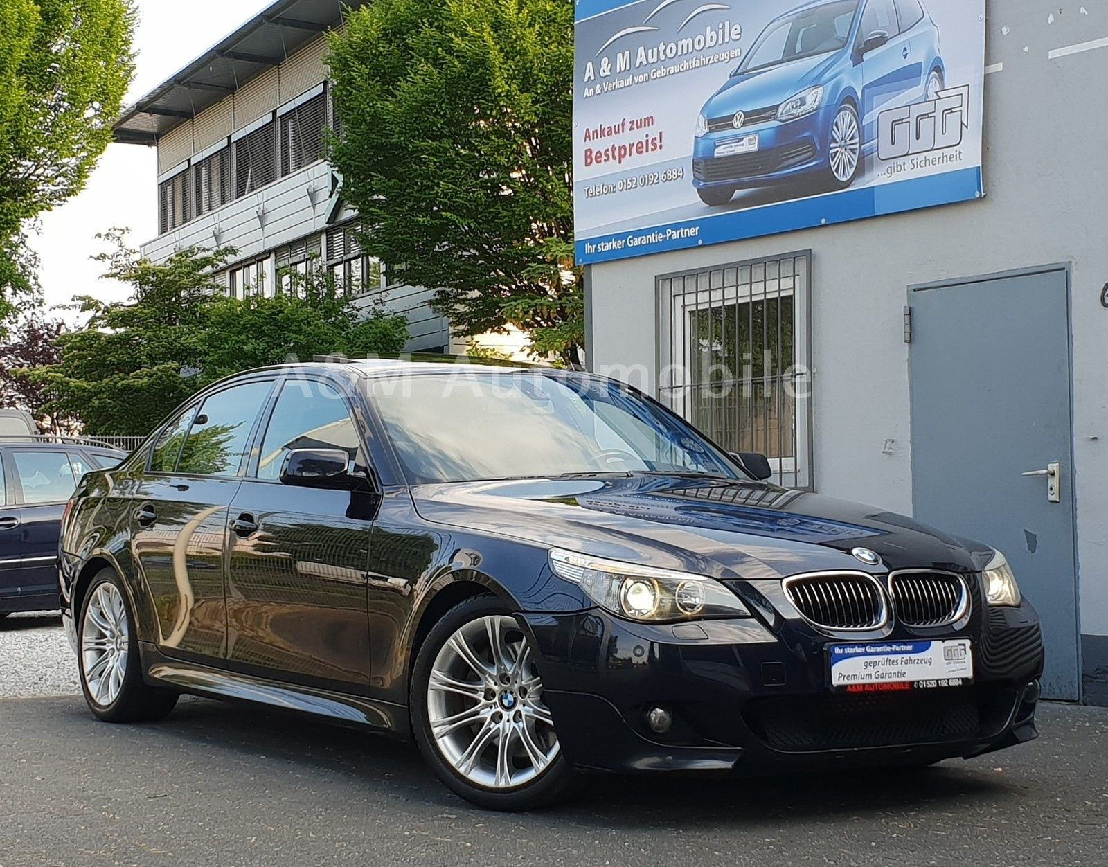 BMW 545i *M-Paket*-*Navi/Leder/Head-Up Display/1Hand