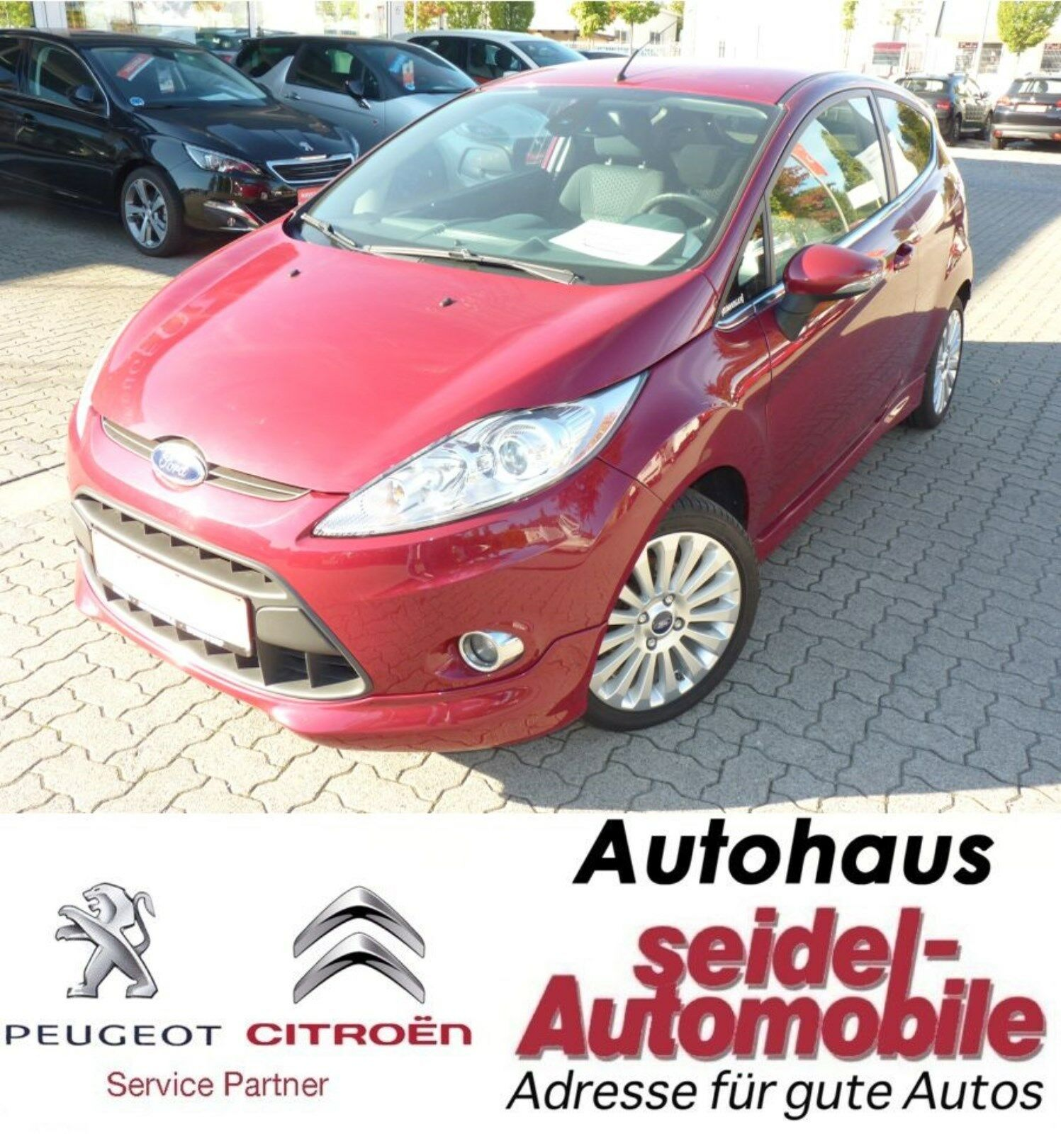 FORD Fiesta 1.4 Titanium, Bluetooth, USB