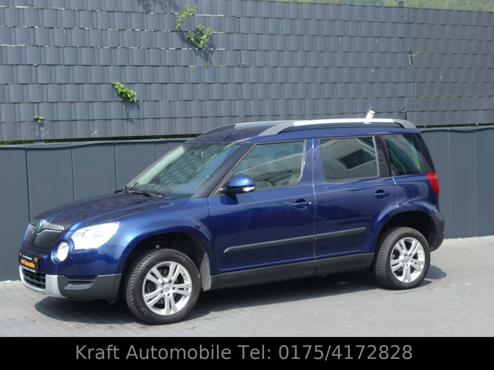 SKODA Yeti Active Plus Edition-Navi-Klima-1.Hand-Top