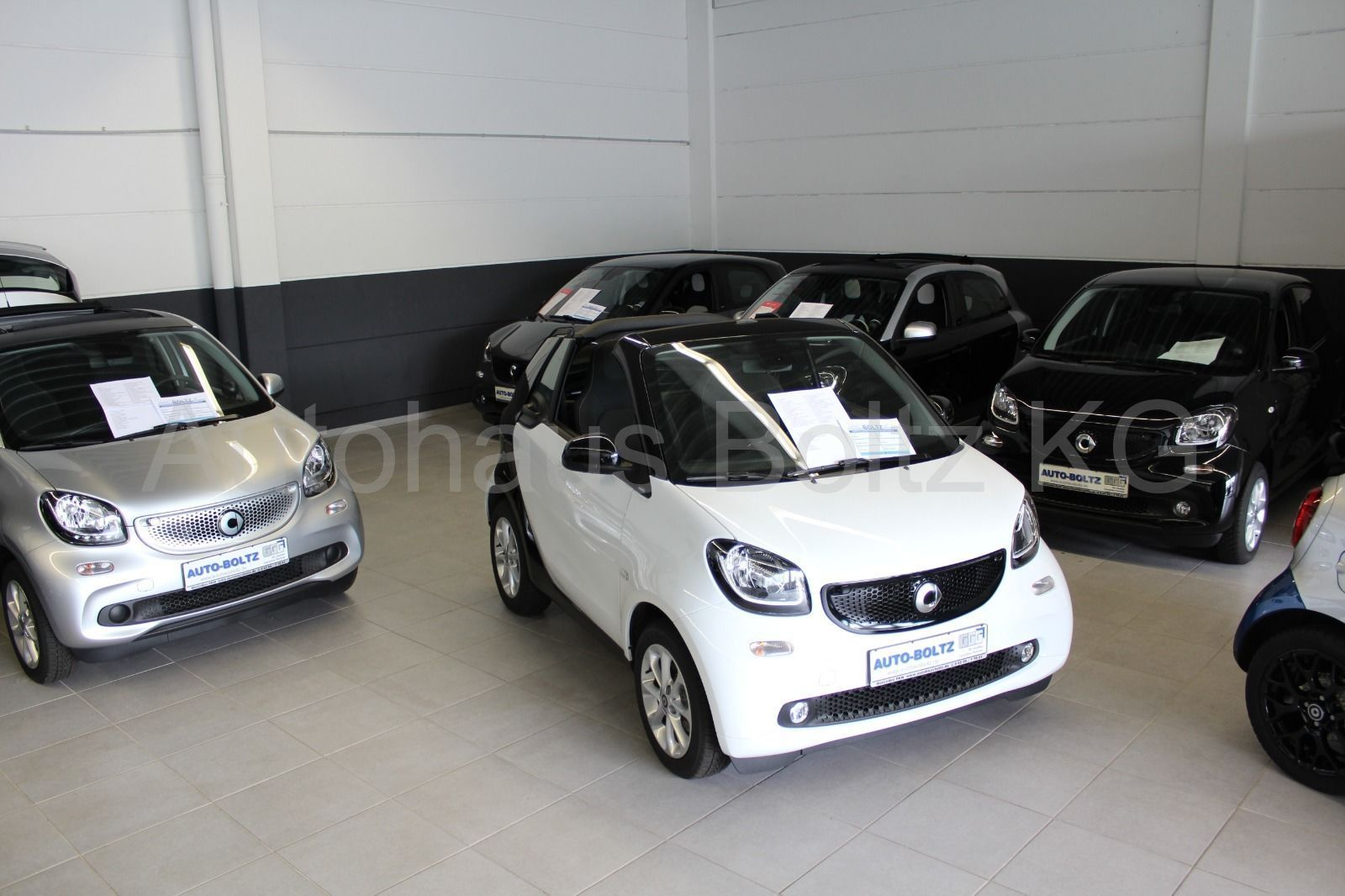 SMART forfour 52 kW passion Cool+Audio LED Park. Sitzh