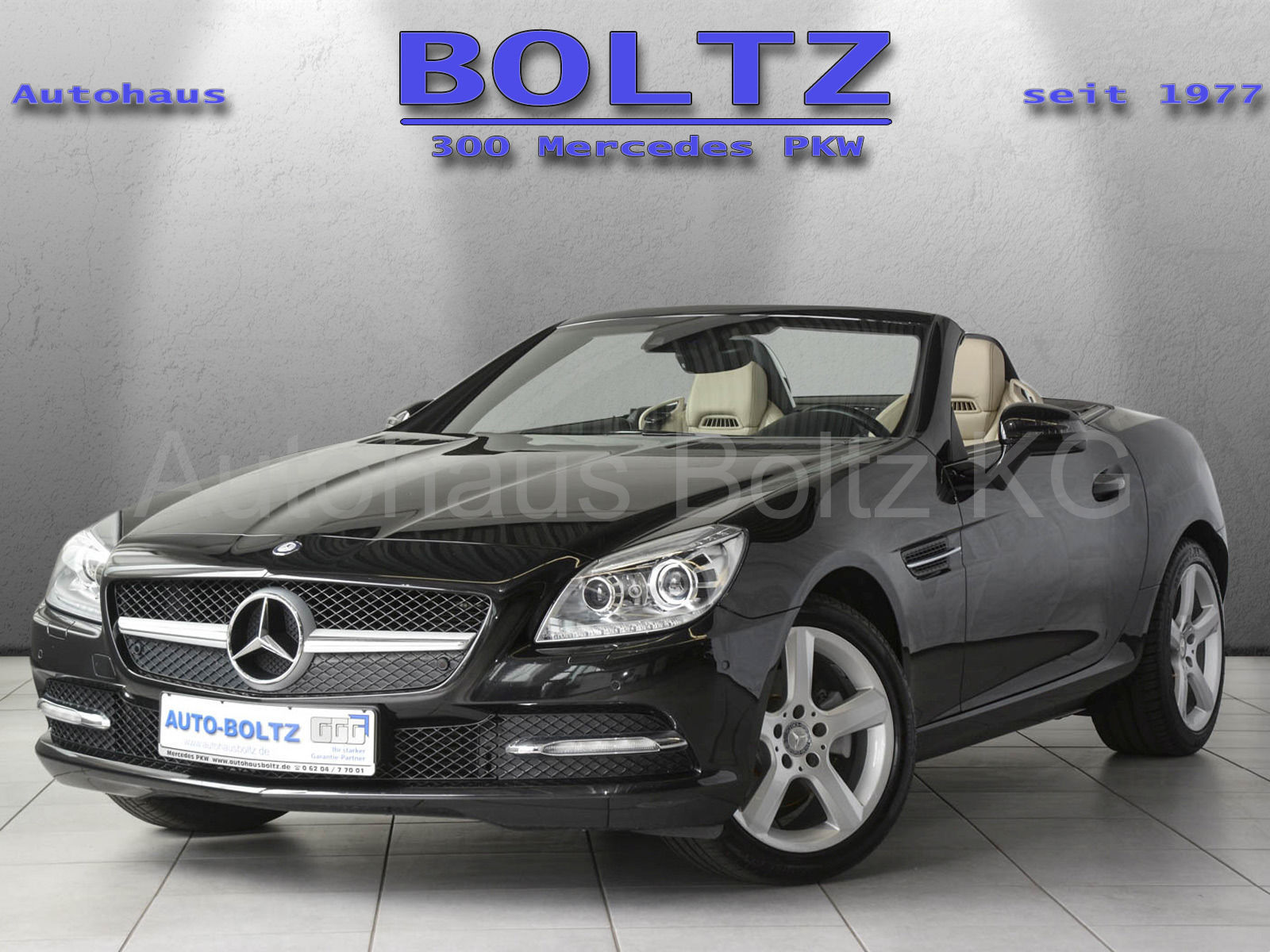 MERCEDES-BENZ SLK 200 Panorama ILS Parkf. Comand Airscarf