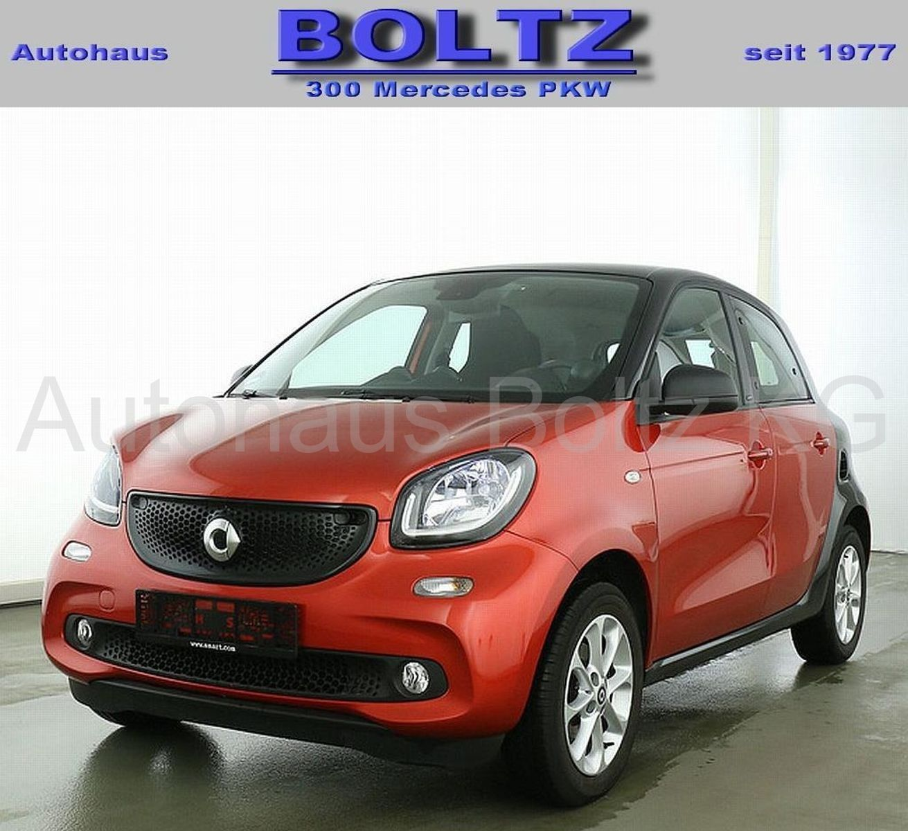 SMART forfour passion LED Komfort-P. Einpark. ready s.