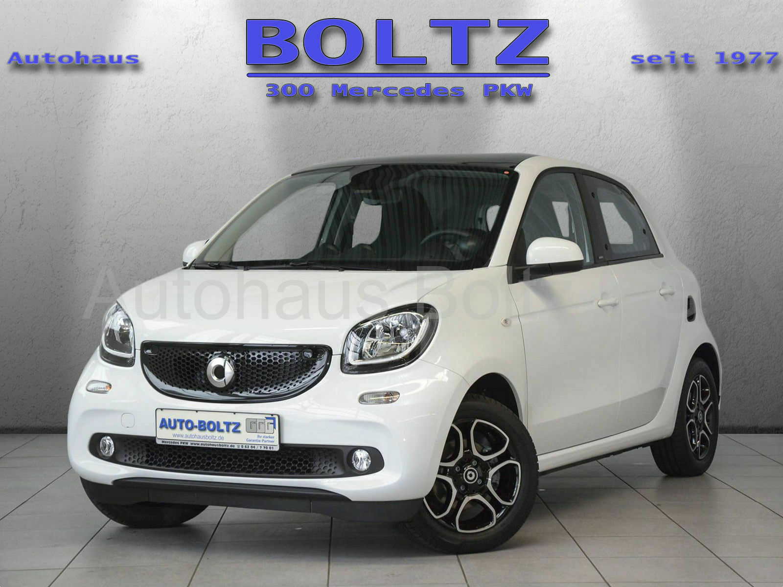 SMART forfour passion 66 kW LED Panorama Ambiente uvm.