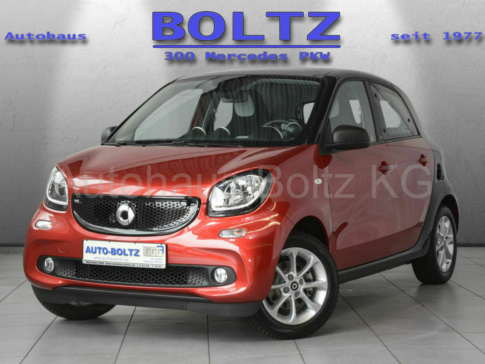 SMART forfour passion 66 kW Panorama Ambientebel. uvm.