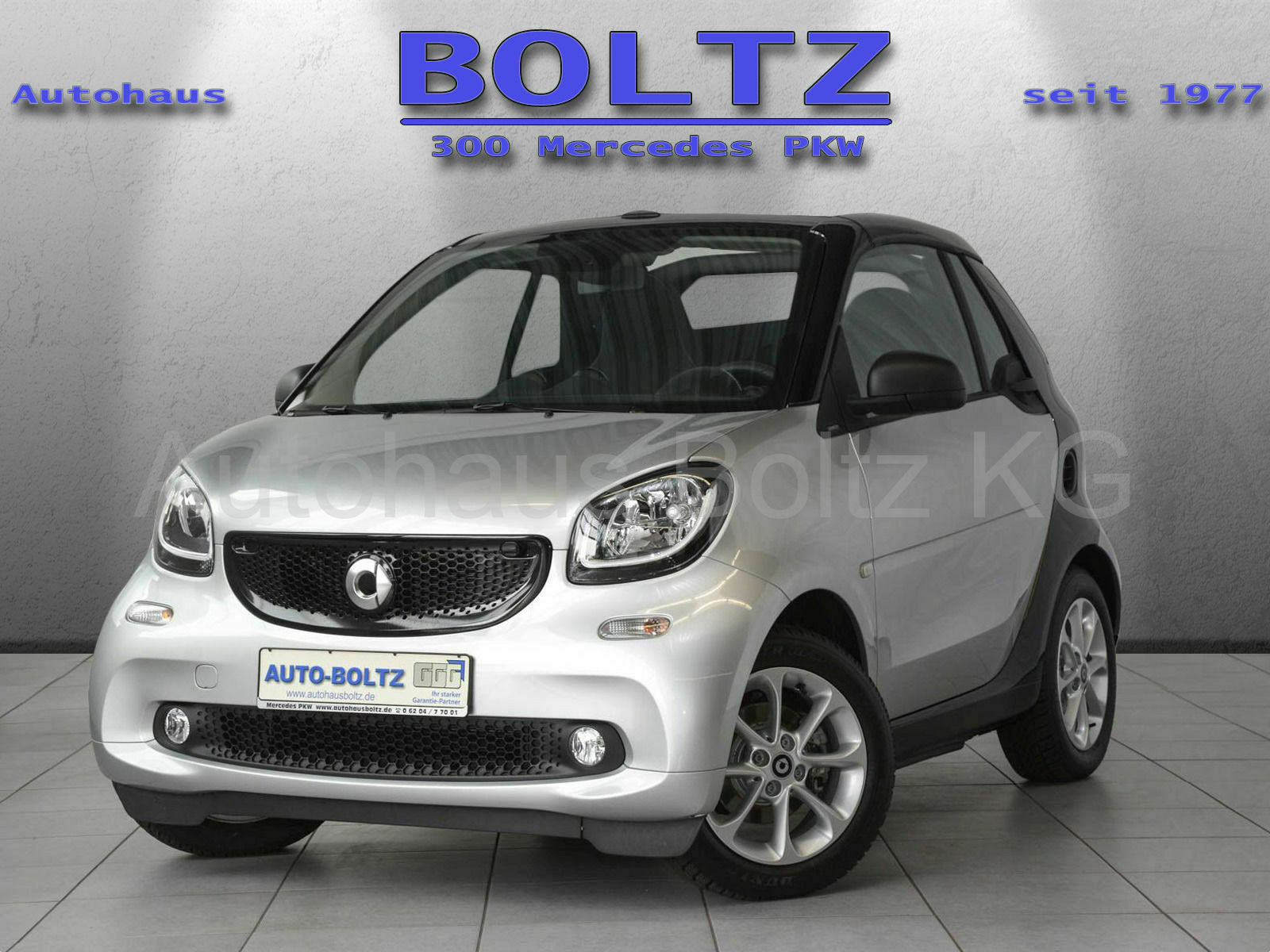 SMART fortwo cabrio 52 kW passion twinamic  LED Komf.