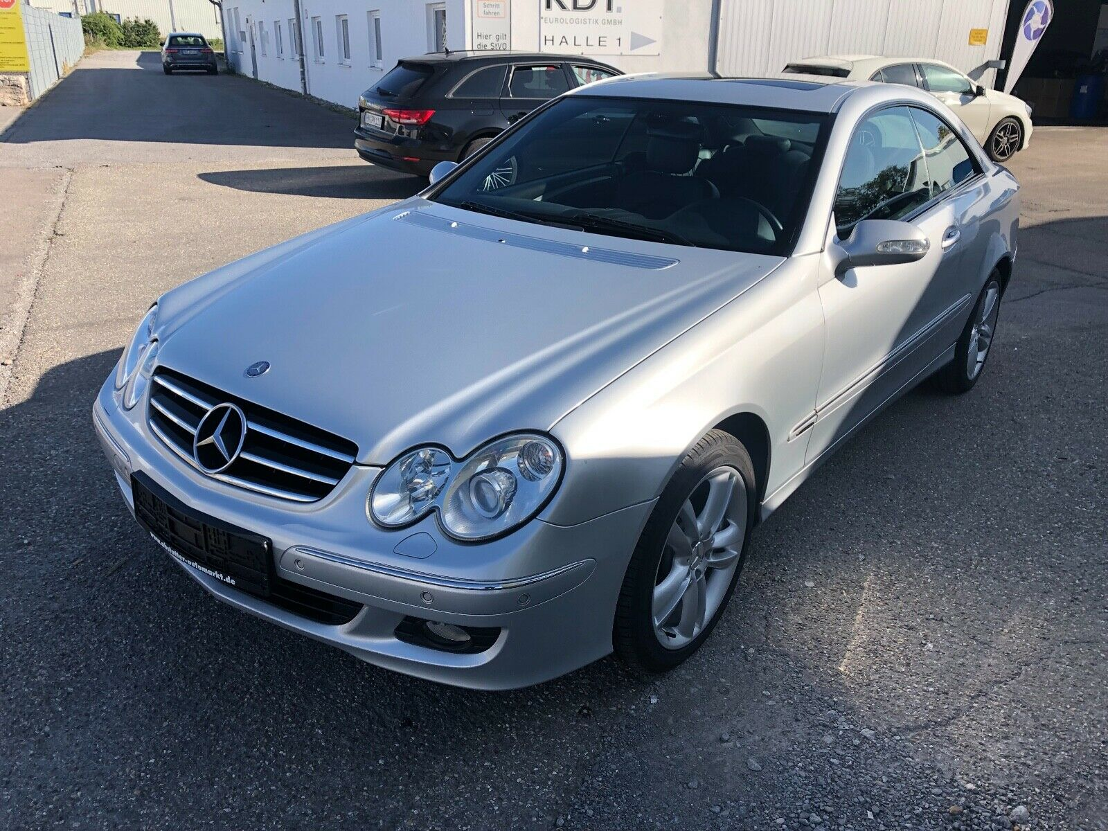 MERCEDES-BENZ CLK Coupe CLK 320 CDI Avantgarde