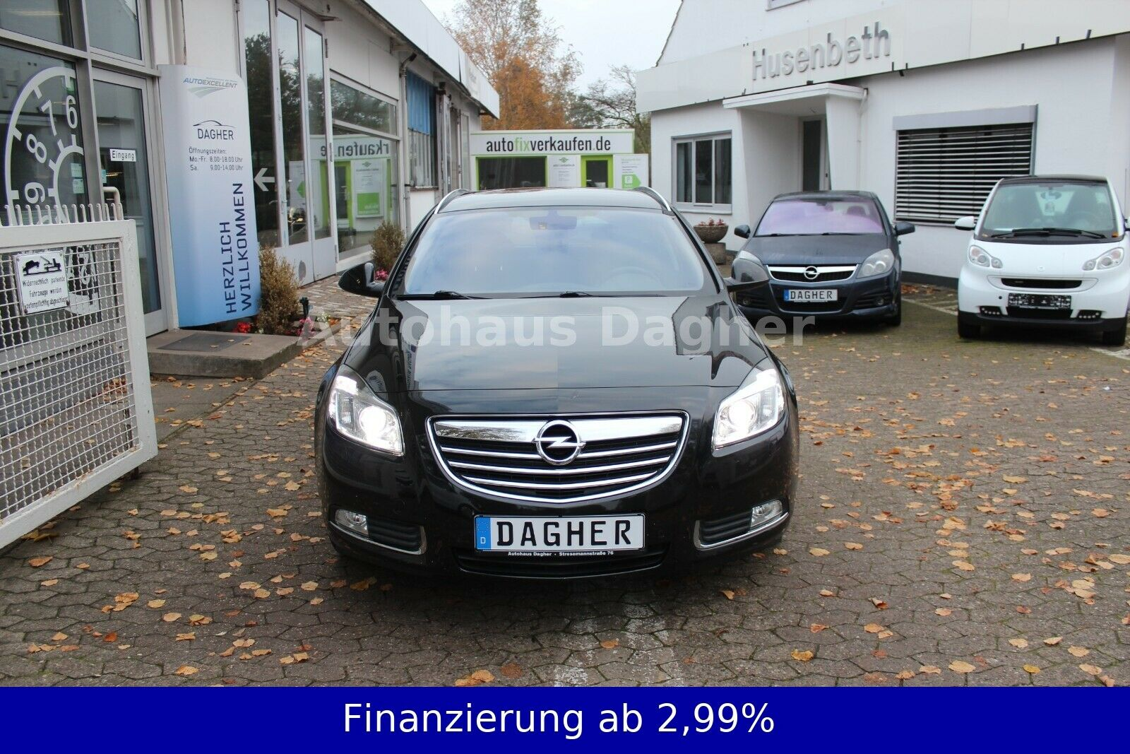 OPEL Insignia Sports Tourer Design Edition Navi ALU