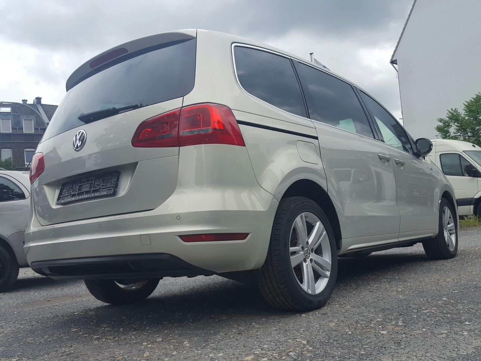 VW Sharan 2.0 TDI DSG Match Panorama/Leder/Navi