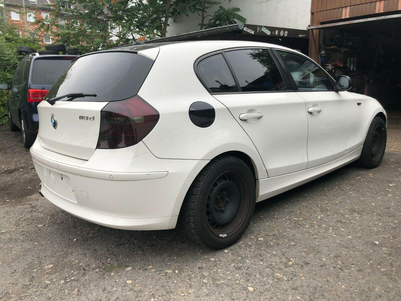 BMW Baureihe 1 Lim. 118d 5-Tür Klima*BC Kratzer
