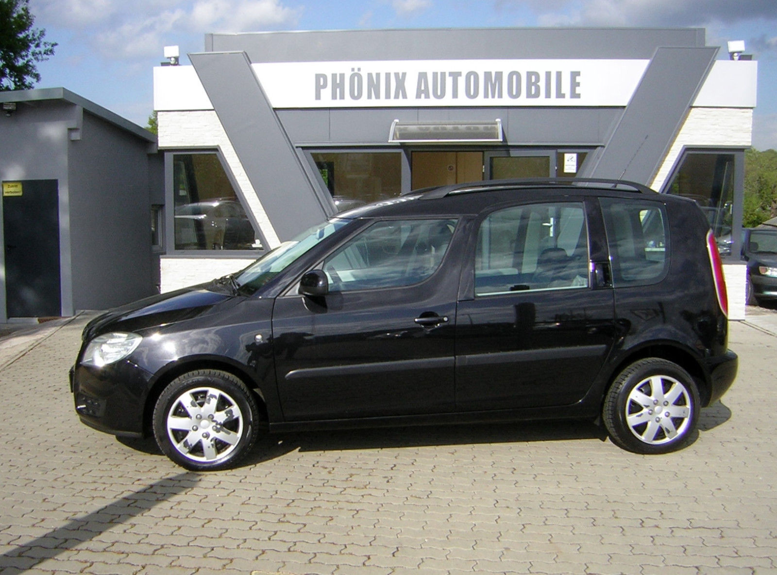 SKODA Roomster Style1.6 16V Panorama-Dach