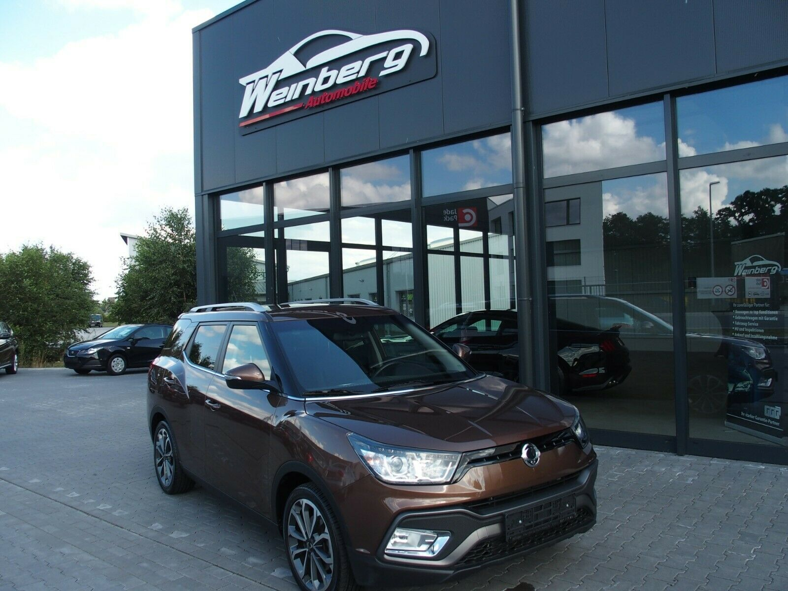 SSANGYONG XLV 1,6 2WD,AHK,Autom,1 Hand