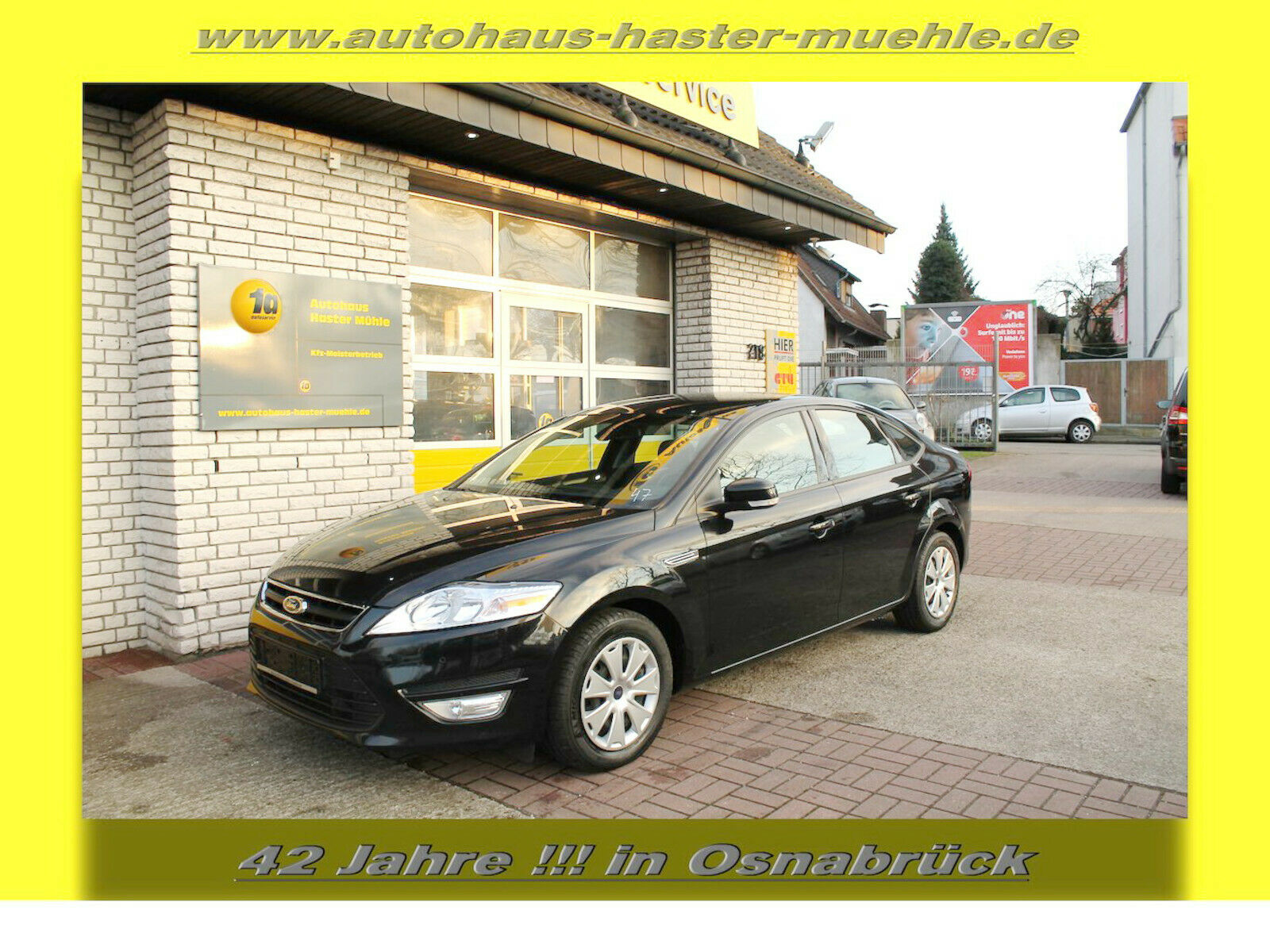 FORD Mondeo Lim.1,6 TDCI Trend ECOnetic *Topzustand*