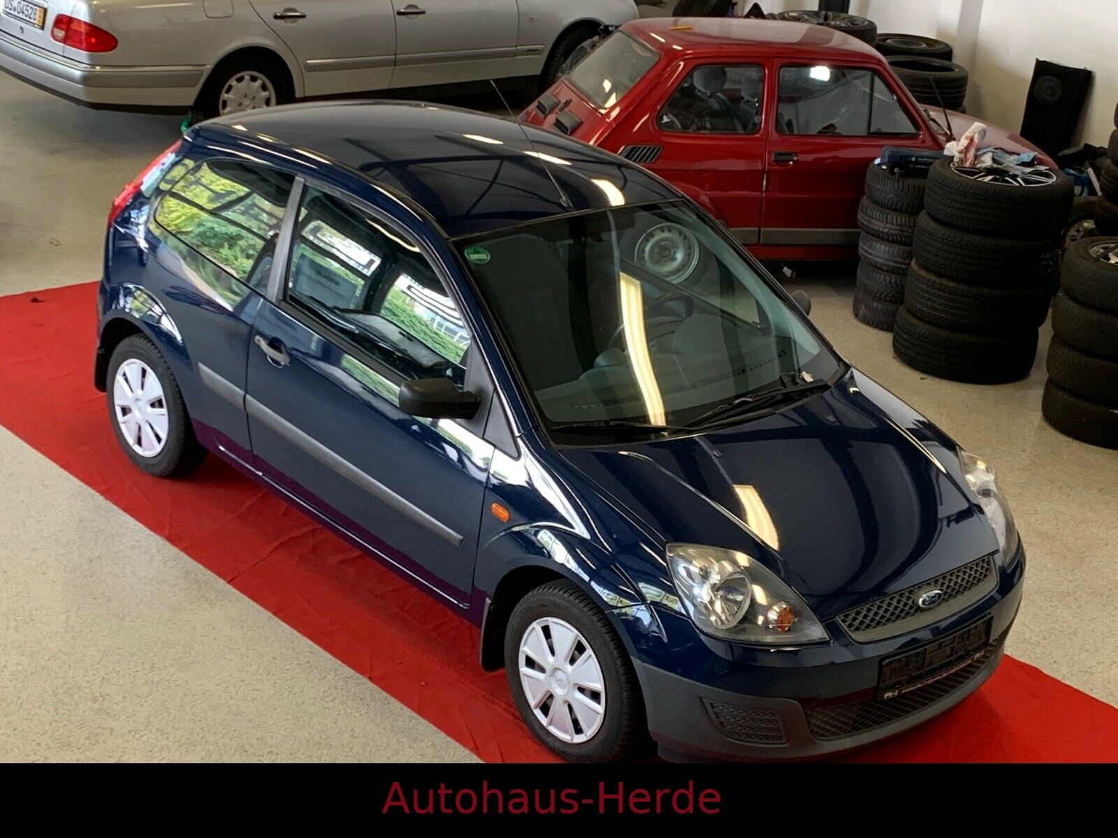 FORD Fiesta Basis -TÜV und AU neu -Garantie