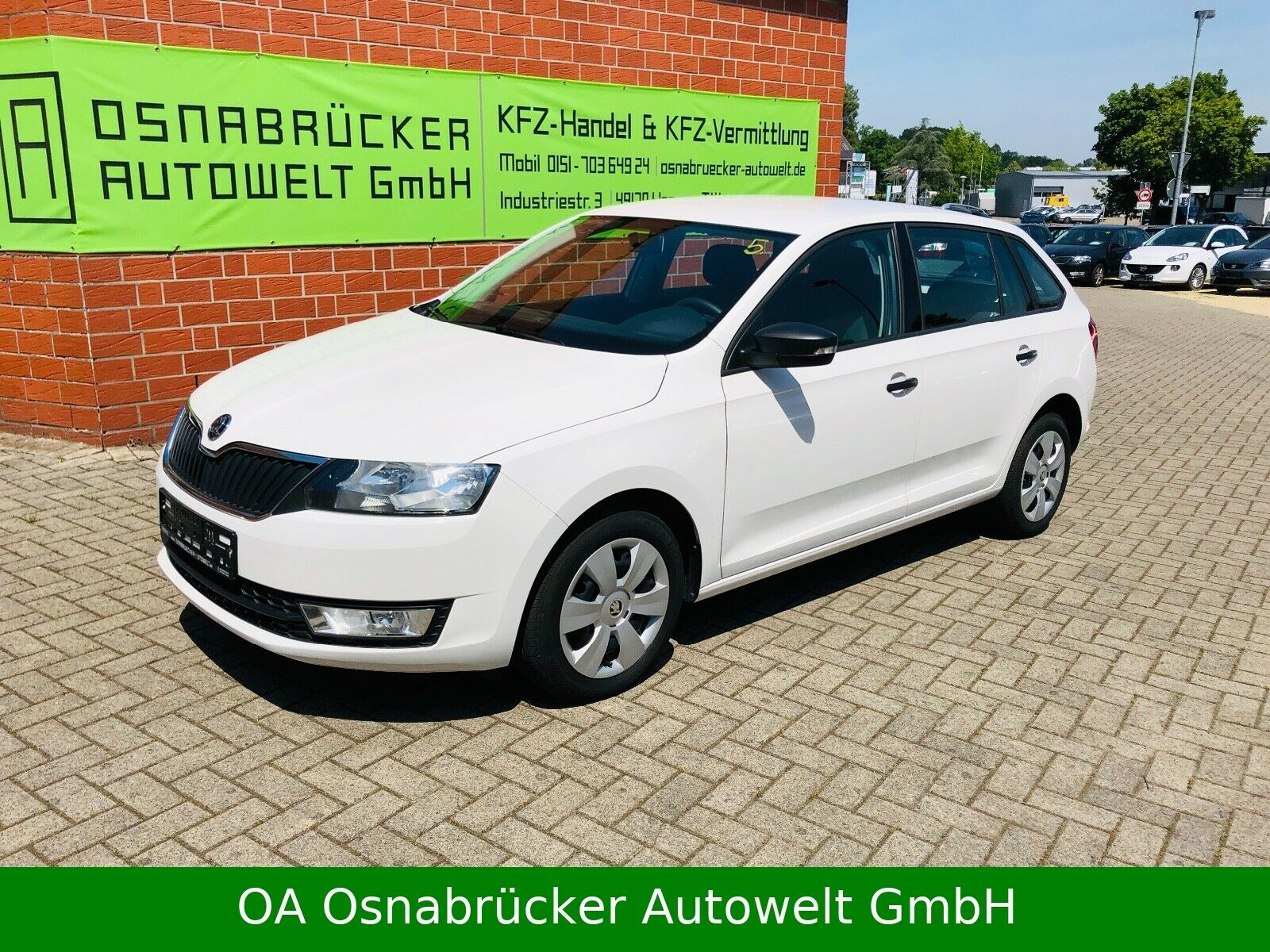 SKODA Rapid Spaceback Bluetooth USB Touchdispl.