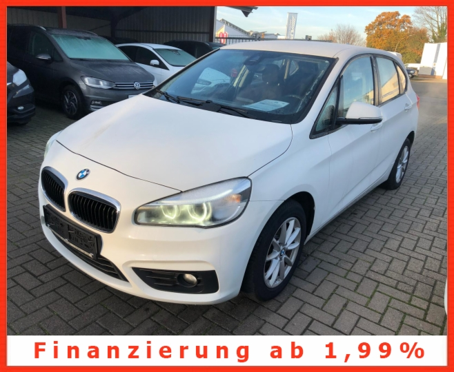 BMW 218 Active Tourer d Klimatro Led Alu Pdc Kamera