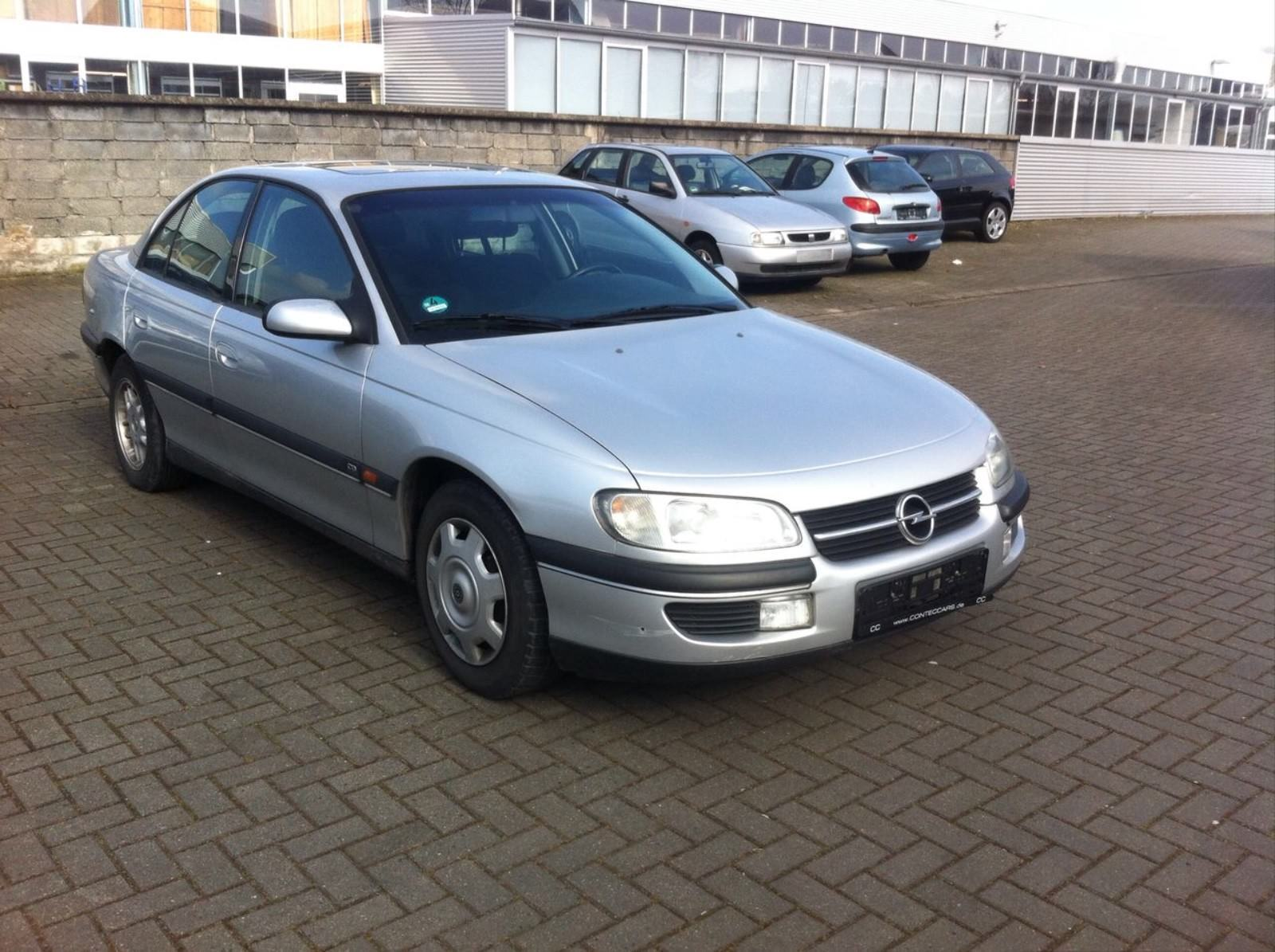 OPEL Omega B CD Reflection Lim.Schiebe-Hebedach