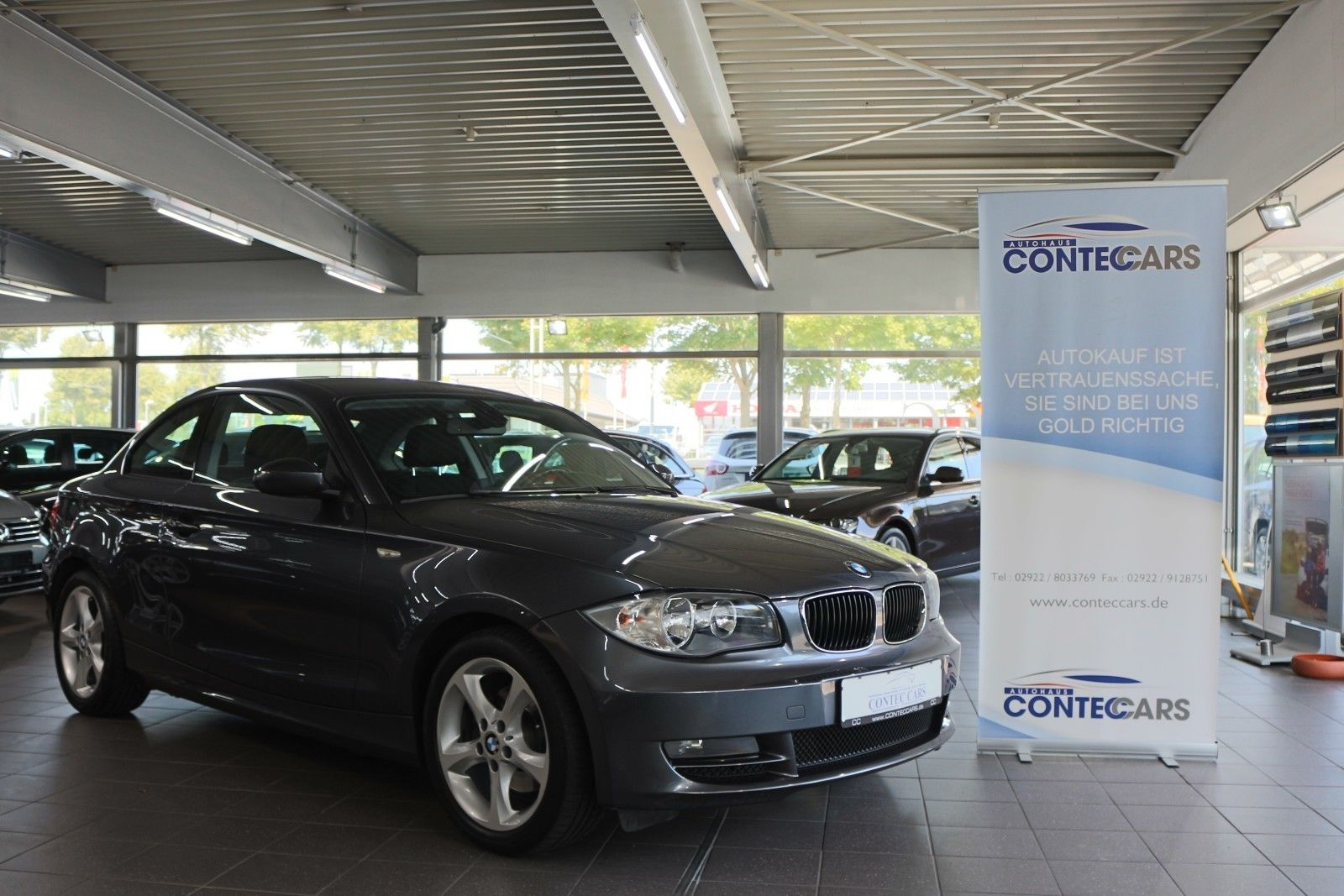 BMW 120d Coupe Advantage-Paket