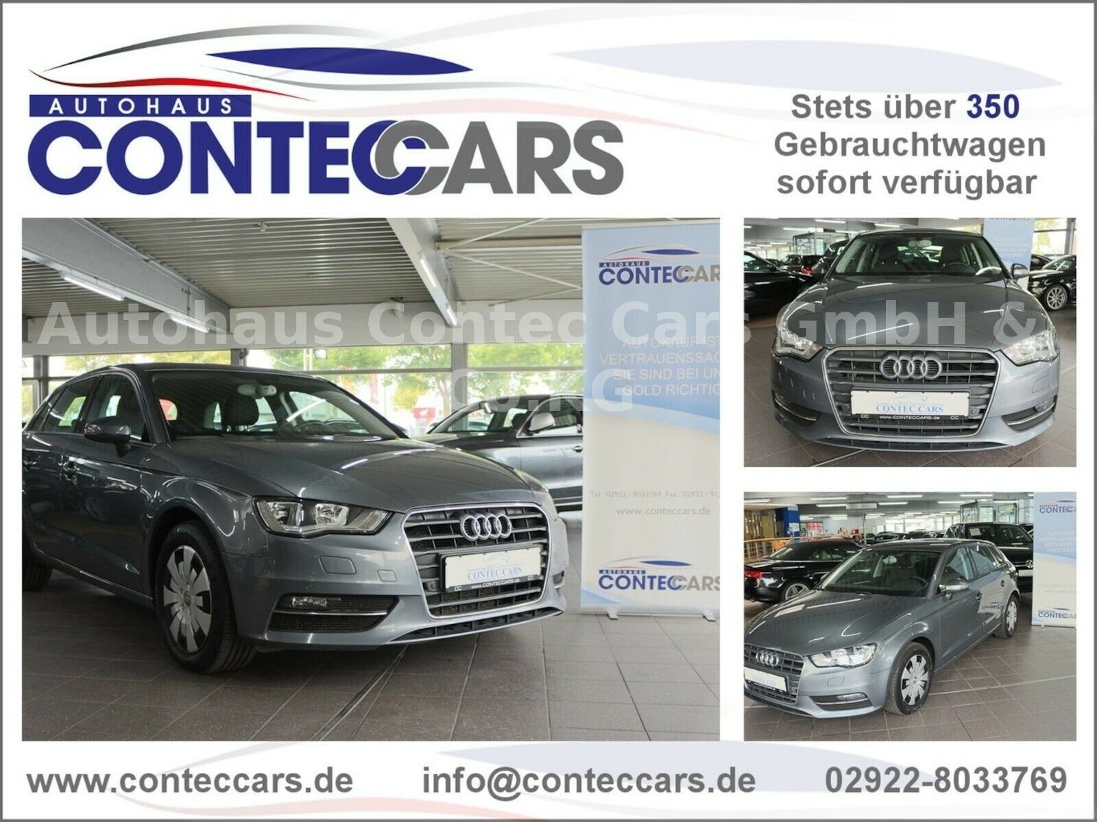 AUDI A3 Sportback Attraction Euro 6 Navigations-Paket