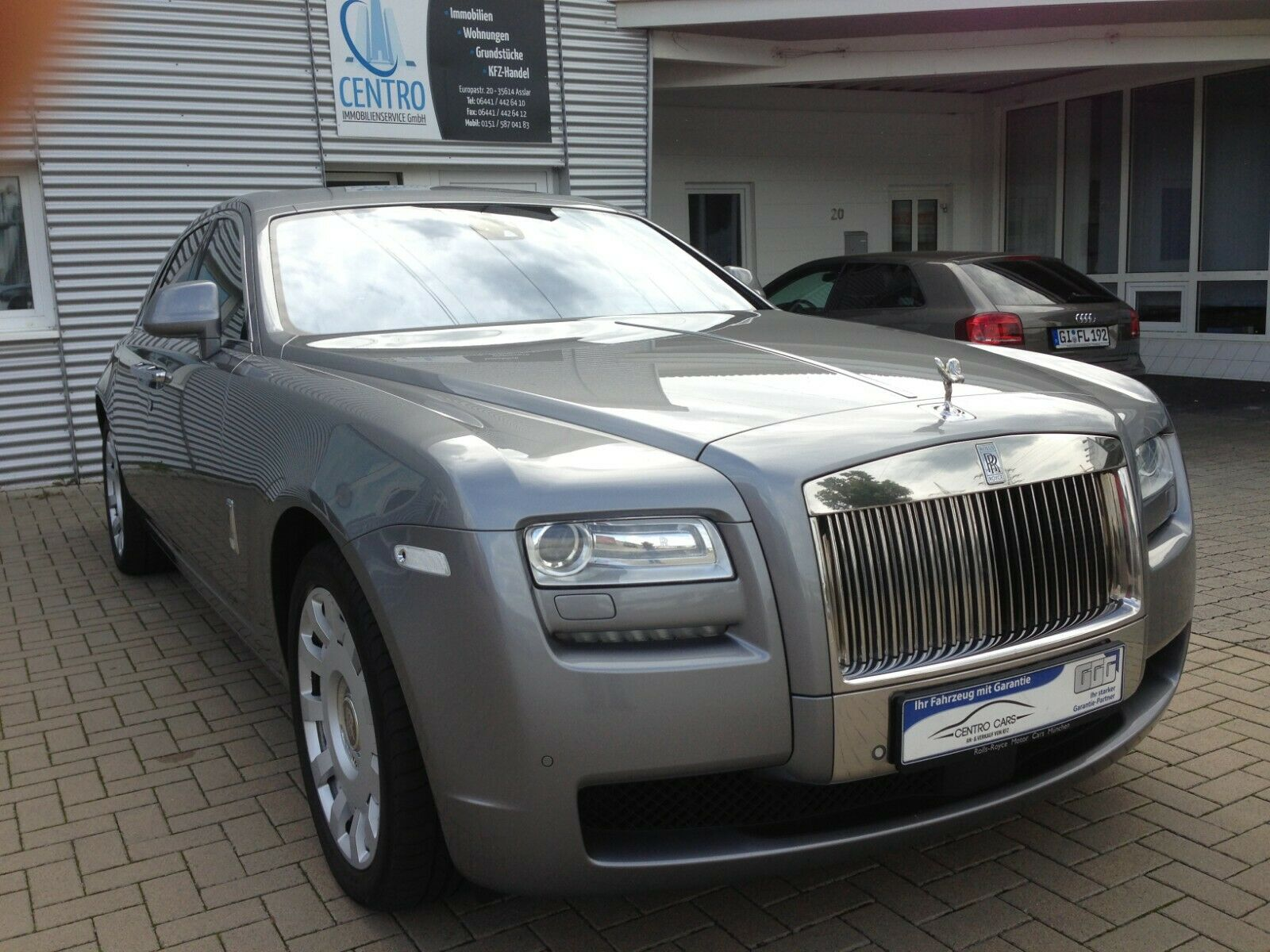ROLLS ROYCE Ghost 6.6  V12  Night Vision Top View Kamera
