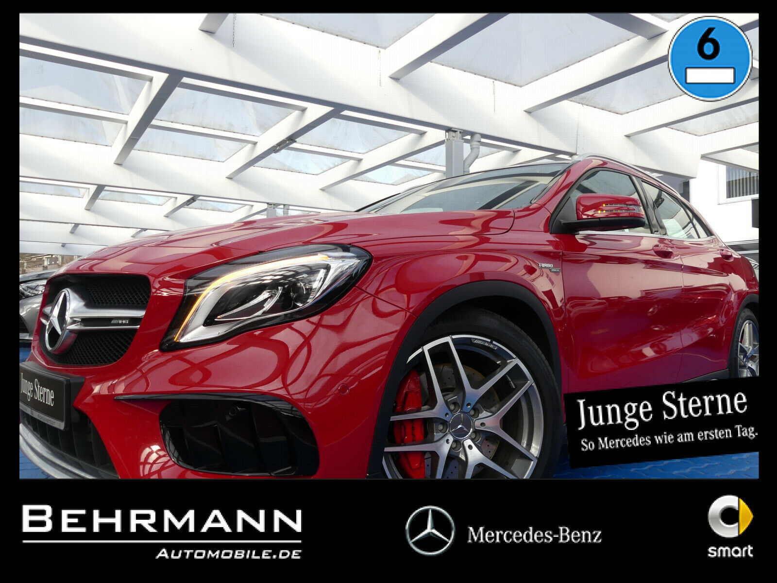 MERCEDES-BENZ GLA 45 4MATIC +Comand+LED++Panoramadach+Keyless+