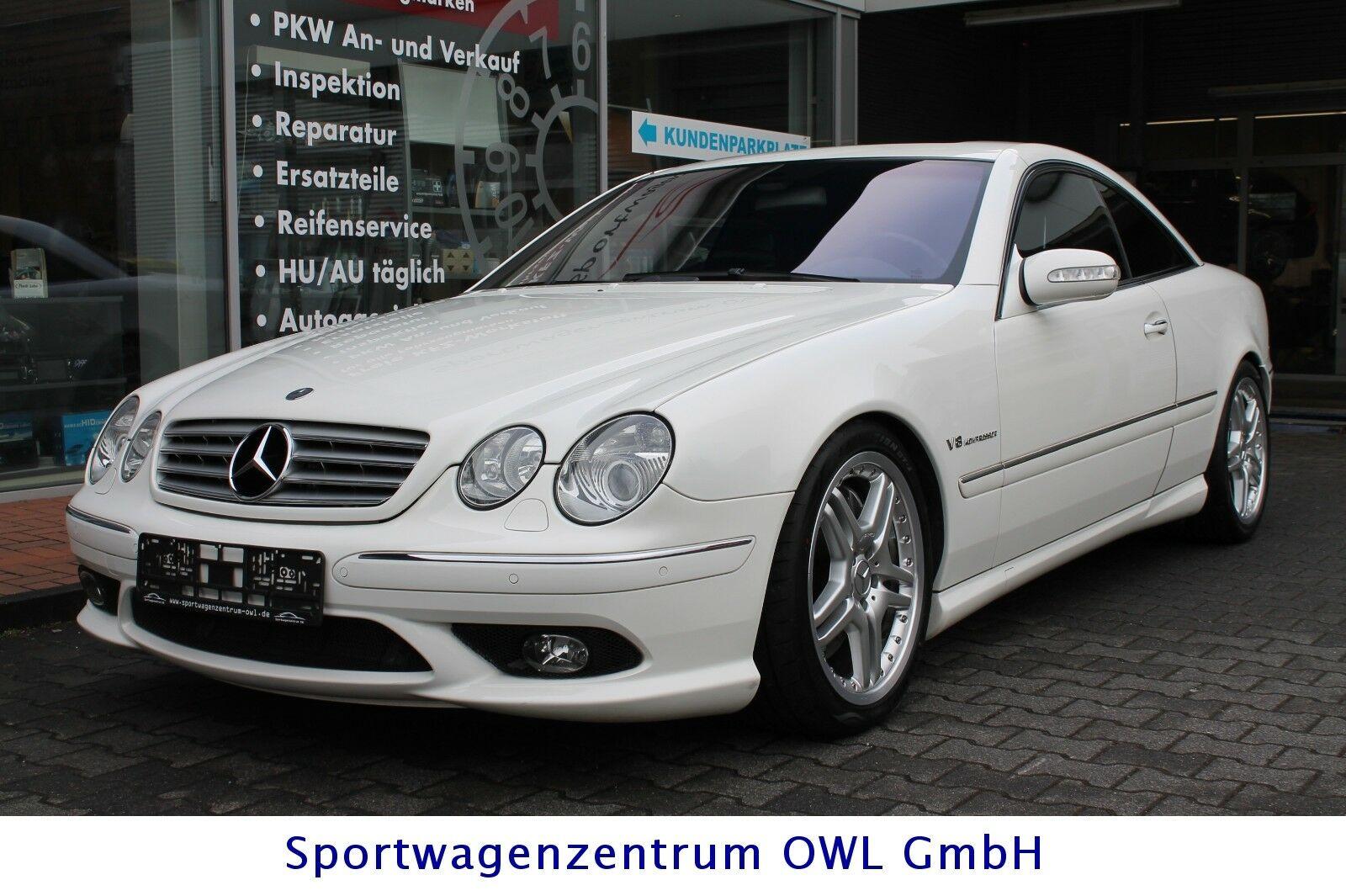 Mercedes Benz Cl 55 Amg Gebraucht Oder Als Jahreswagen Kaufen In
