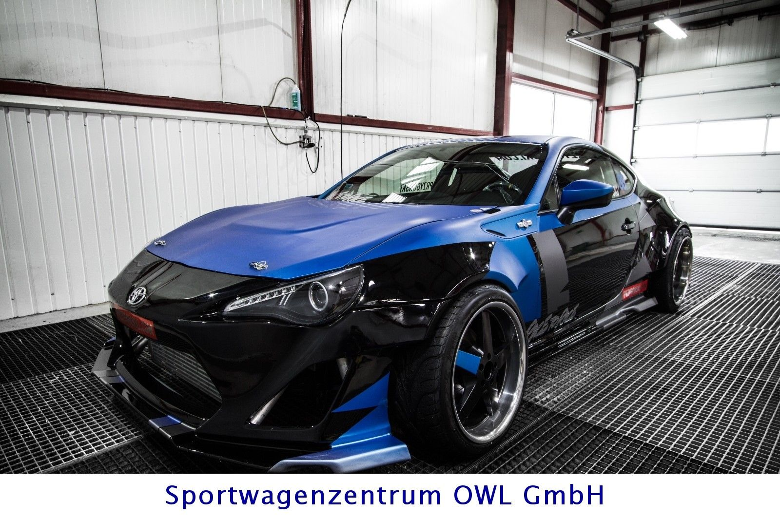 toyota gt86 full professional drift car 850hp aufbau 16