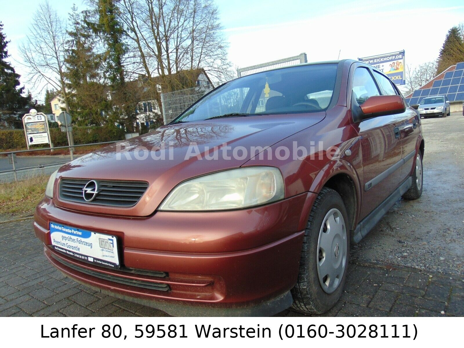 OPEL Astra G Lim. Selection
