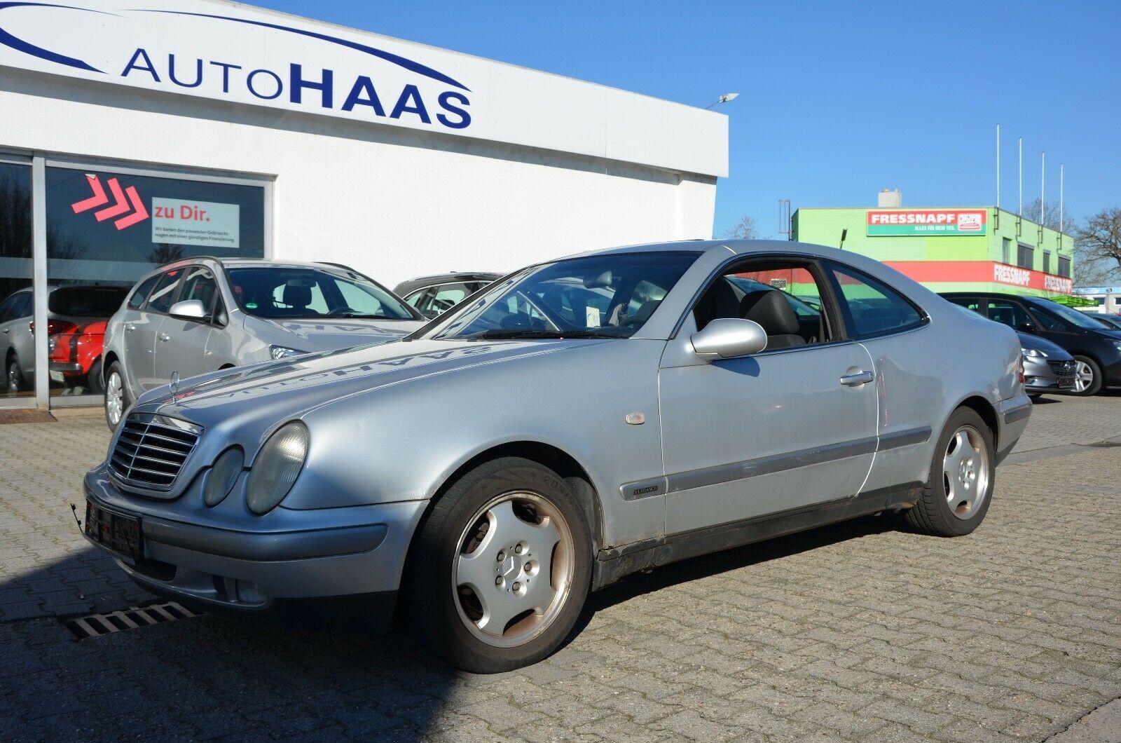 MERCEDES-BENZ CLK Coupe 230 K Automatic Leder 169 TKM Rentnerf
