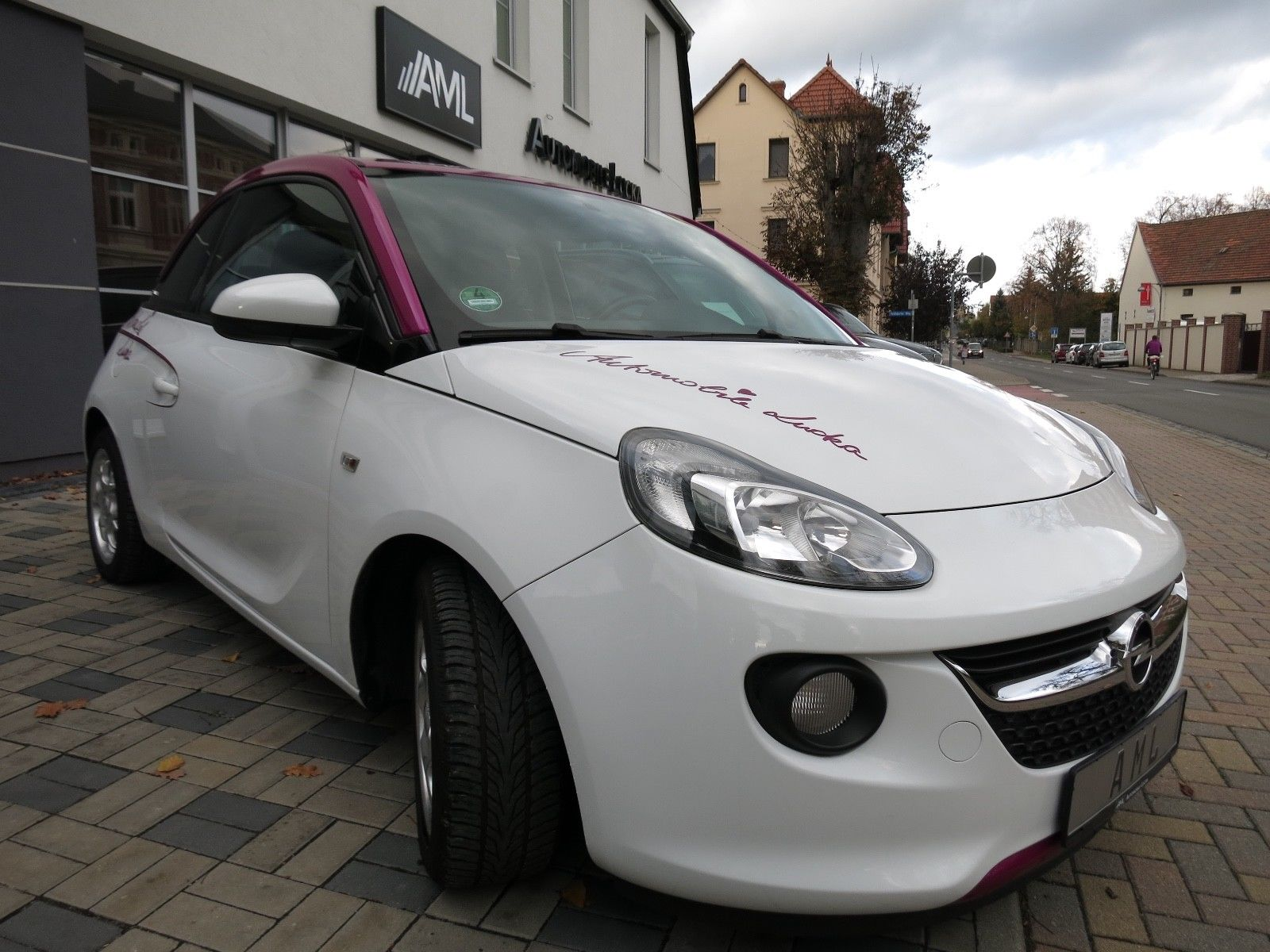 "OPEL Adam 1.2 TÜV+AU NEU! ""AUTOMOBILE LUCKA EDITION"""