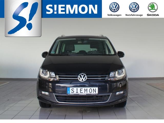 VW Sharan Match 2.0 TDI Navi e-Sitze AHK-klappbar