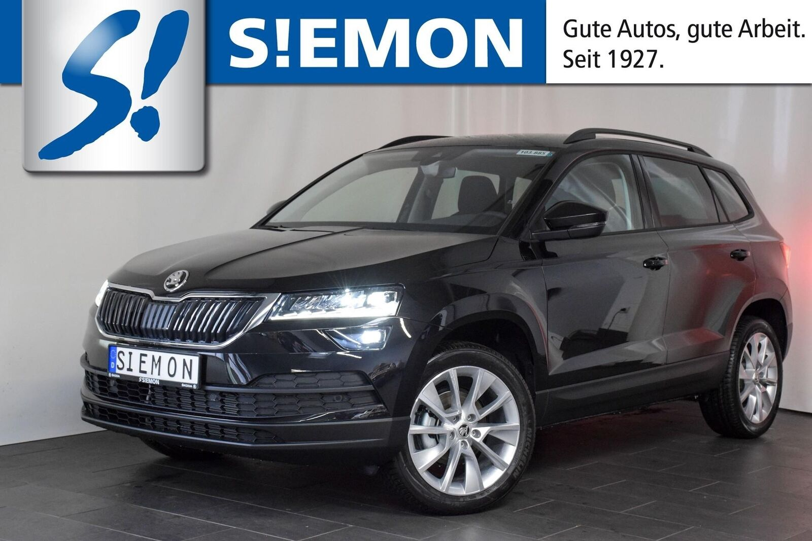 skoda karoq 1 5 tsi dsg style navi led acc ahk shz deine. Black Bedroom Furniture Sets. Home Design Ideas