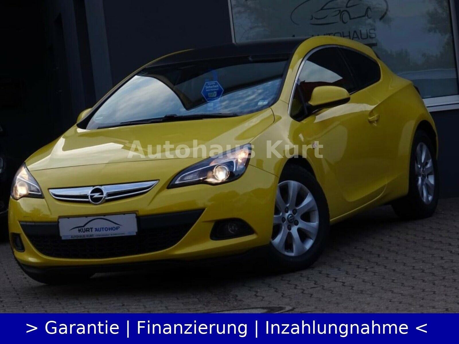 OPEL Opel Astra J 1.6 Lim. GTC Basis*Tempo.*17LMF*