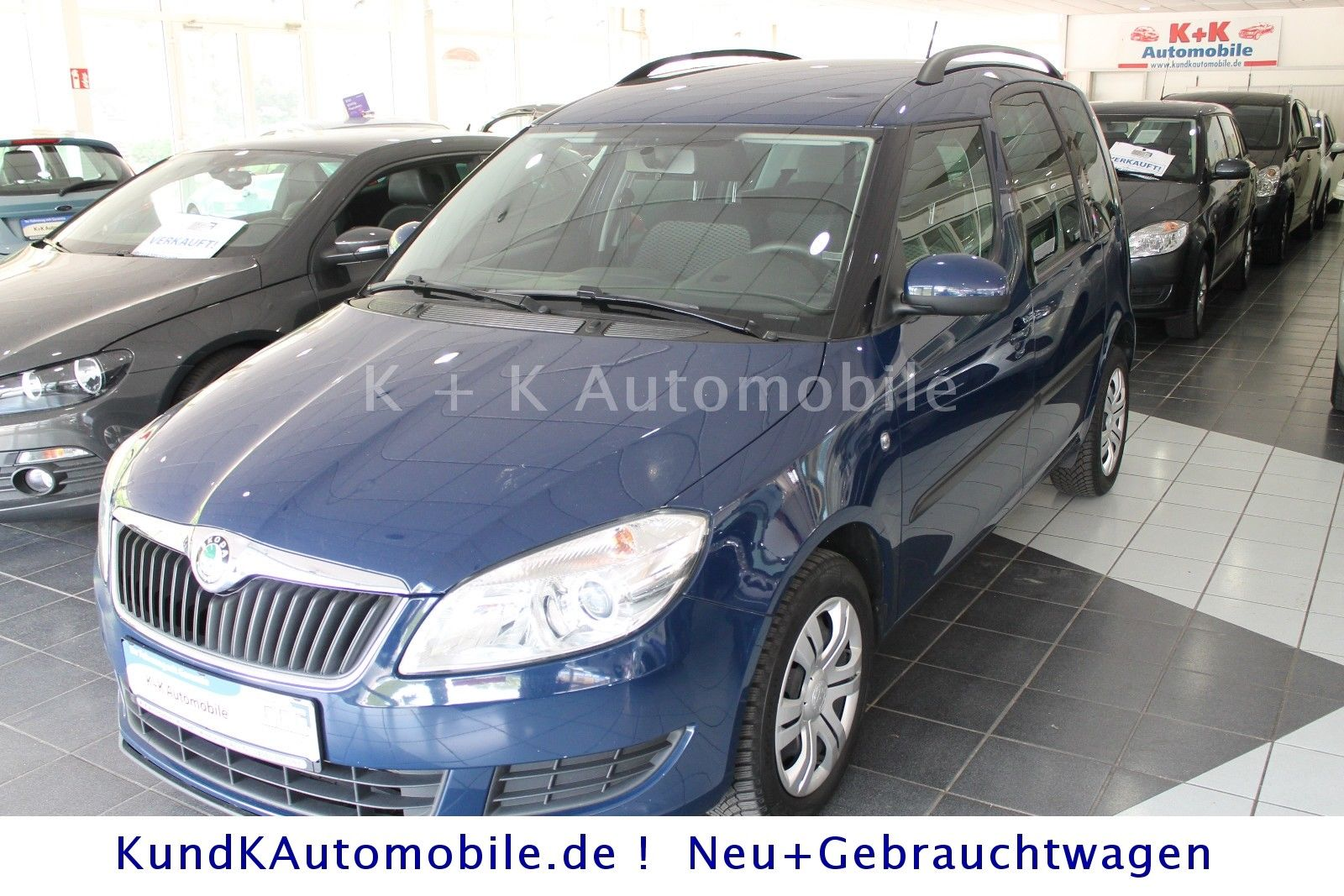 SKODA Roomster 1,6 TDI Ambition Plus Edit. Klimaautom.
