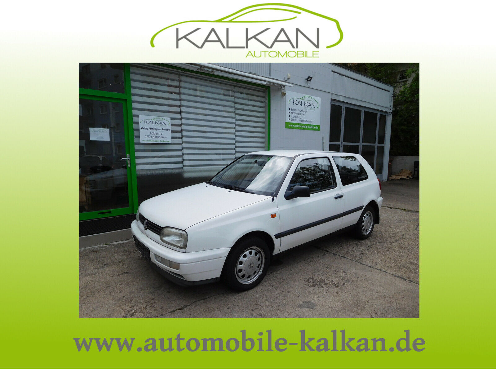 VW Golf III Lim. CL #Automatik #137 tkm