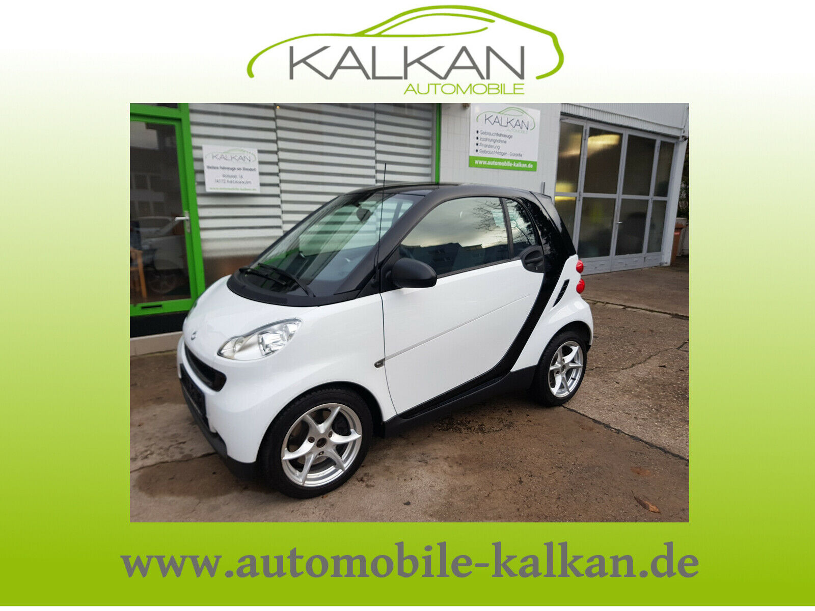 SMART ForTwo coupe Micro Hybrid Drive #Panodach
