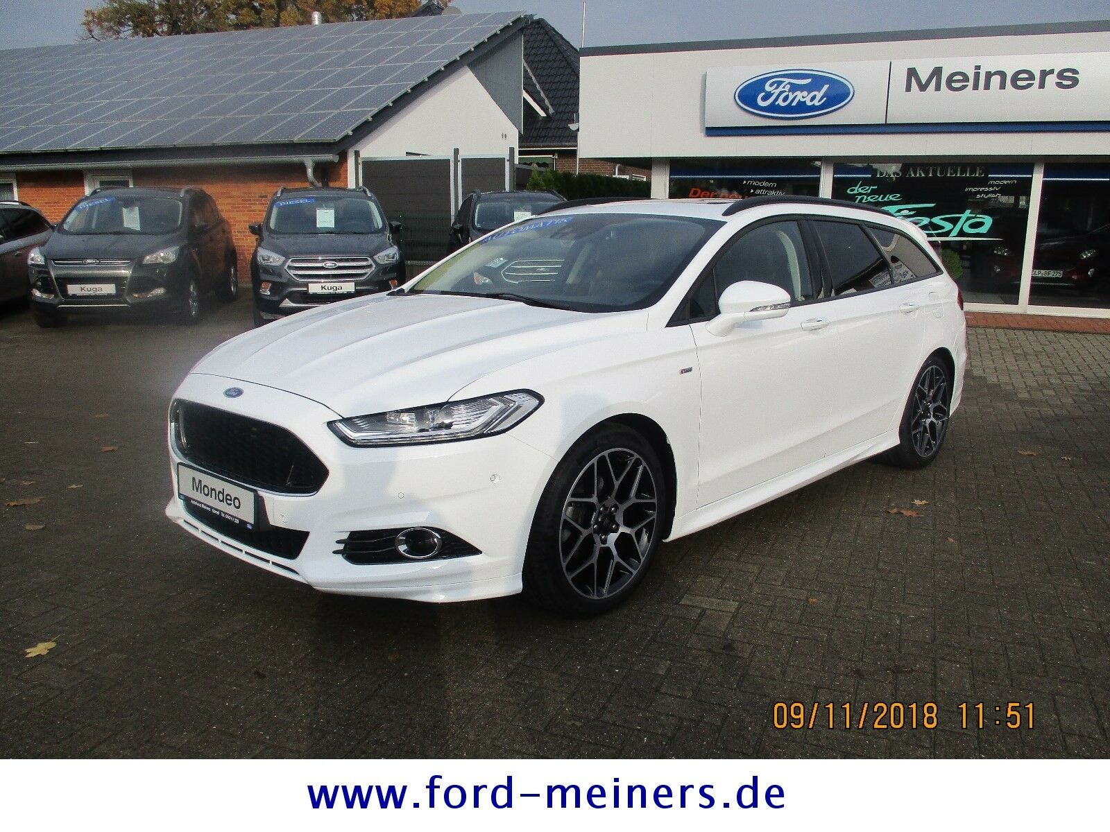 FORD Mondeo Turnier ST-Line +Panorama+LED+4Jahre FGS+