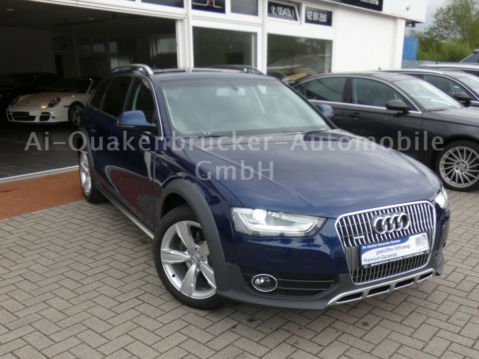 audi a4 allroad gebraucht oder als jahreswagen kaufen in. Black Bedroom Furniture Sets. Home Design Ideas