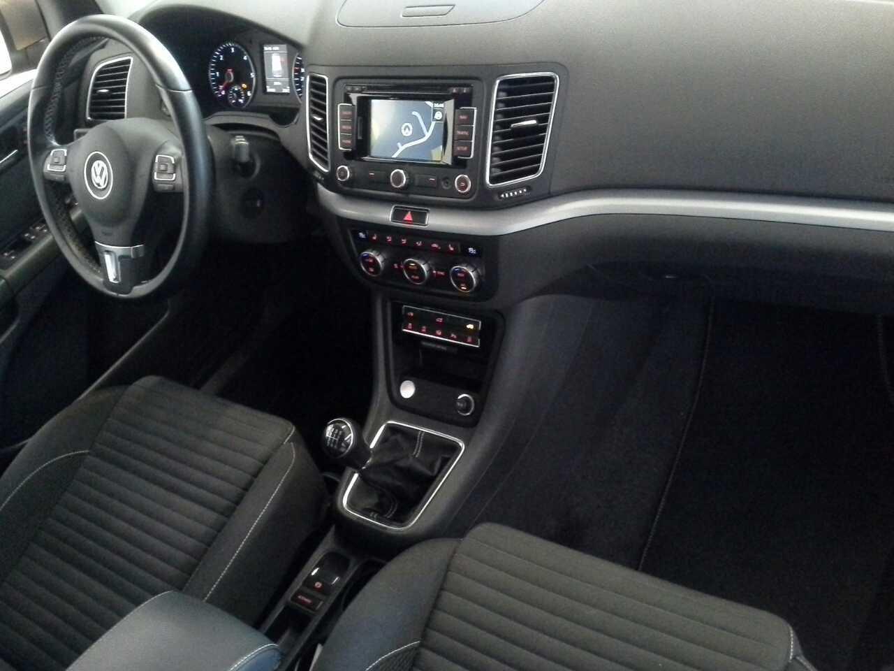VW Sharan 2.0 TDI  Cup Navi StandHzg