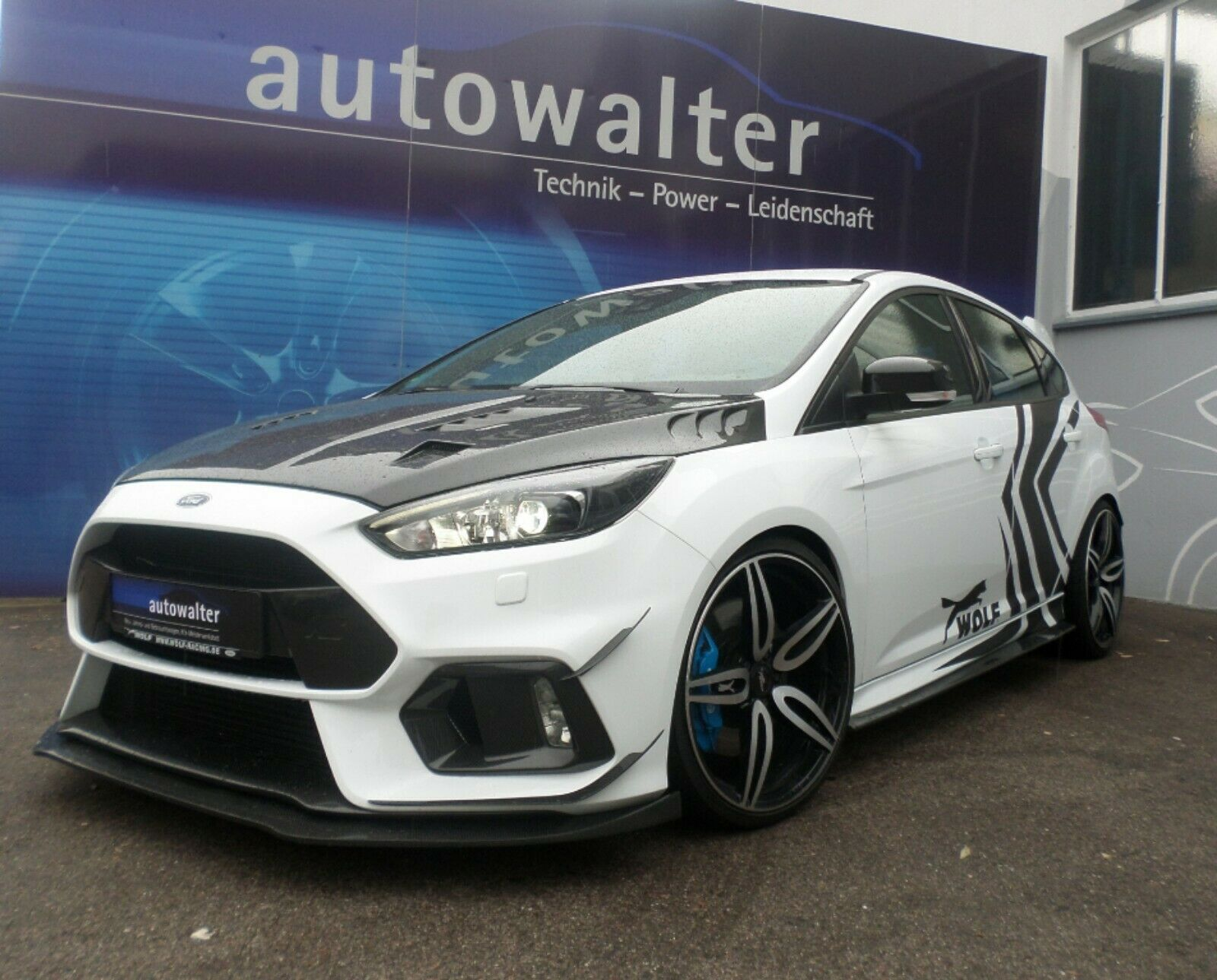 FORD Focus Lim. RS -WOLF UMBAU-VOLL CARBON-440PS