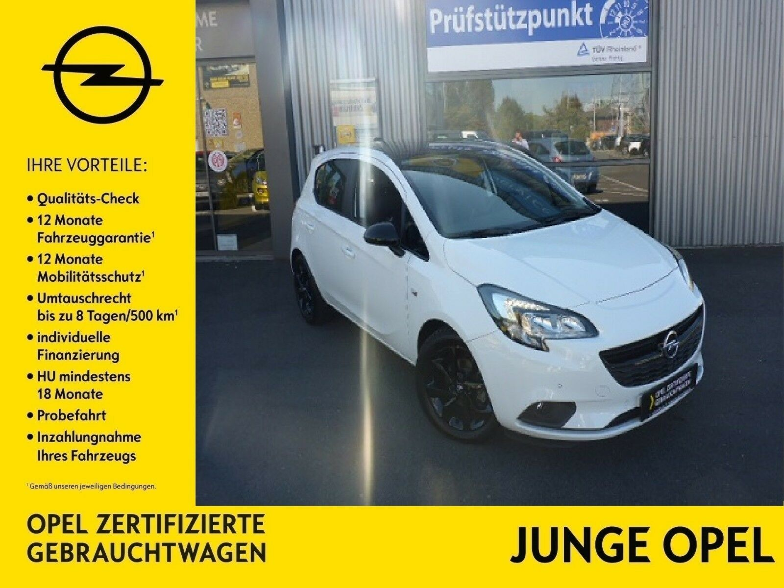 OPEL Corsa E Color Edit. 1.4 66kW (90PS) SHZ, PDC