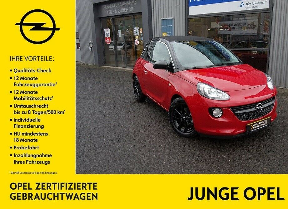 OPEL Adam Open Air 120 Jahre 1.4 (87PS) S/S - PDC