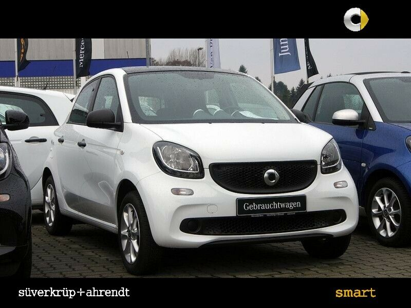 SMART smart forfour cool audio panorama sitzheizung Pa