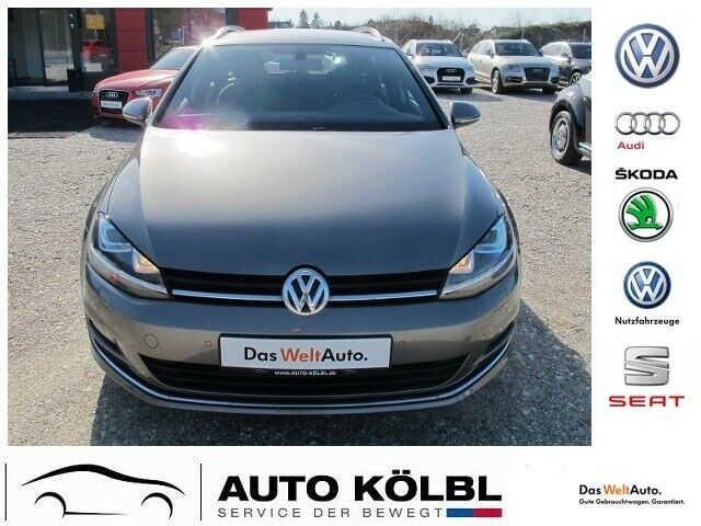 VW Golf VII Variant 2,0 TDI BMT Highline - Xenon Na