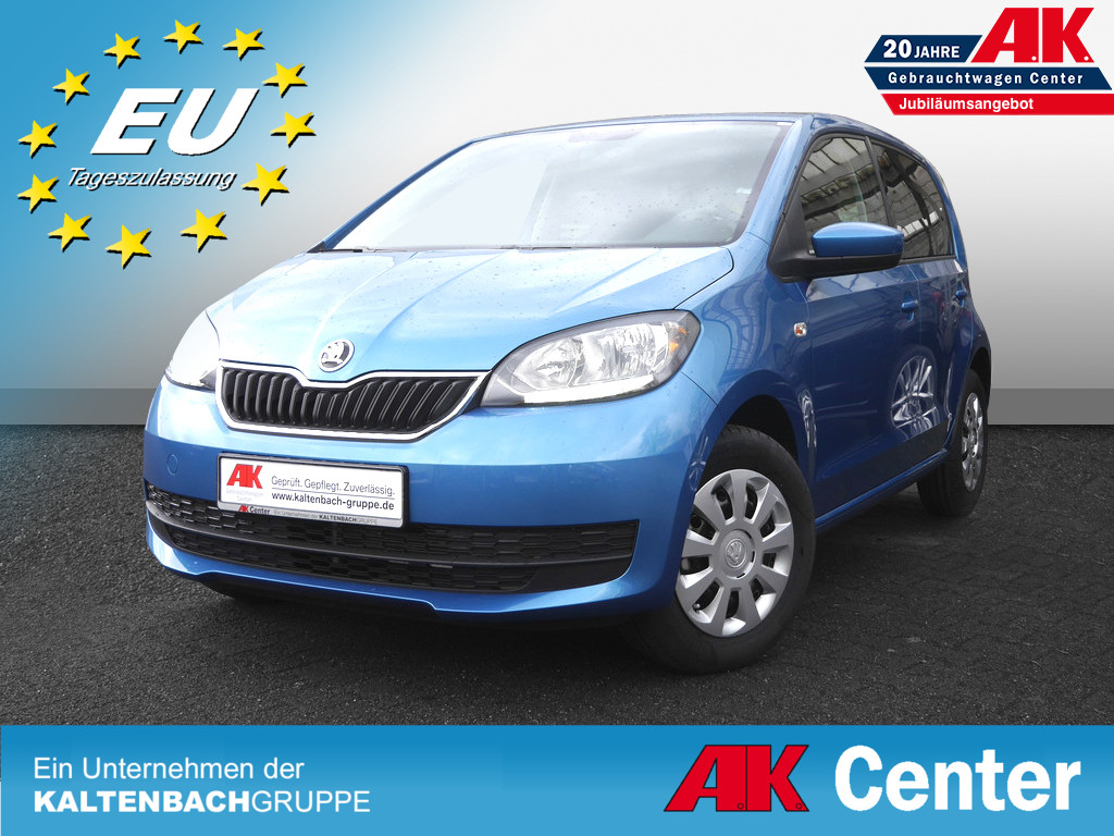 SKODA Citigo 1.0 MPI Ambition Green tec KLIMA USB