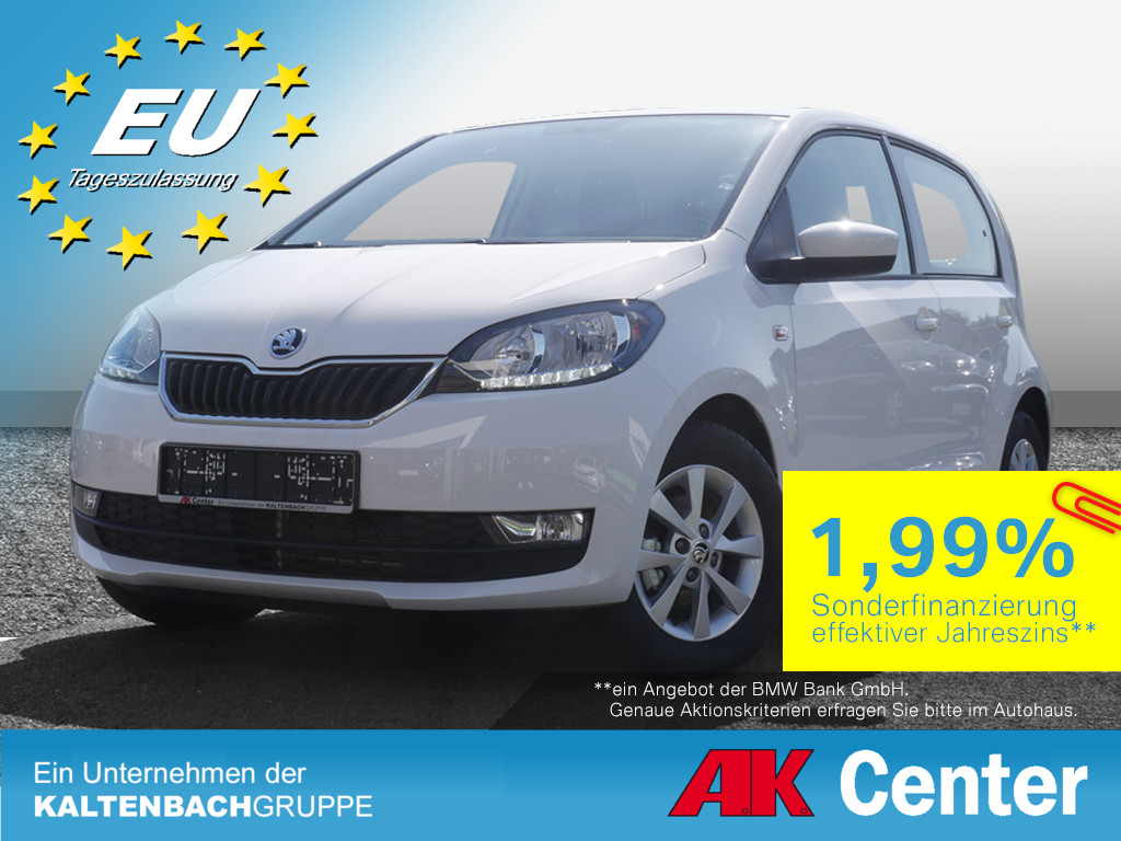 SKODA Citigo 1.0 MPI Ambition Plus USB KLIMA PDC SHZ
