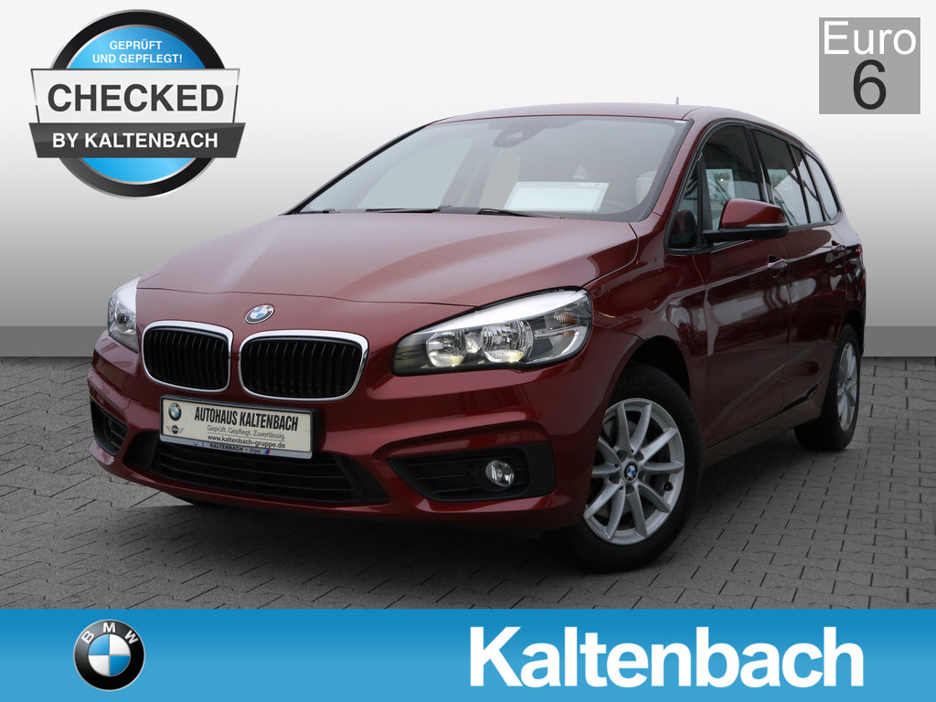 BMW 218 Gran Tourer Business KLIMA PDC SHZ NAVI EU6