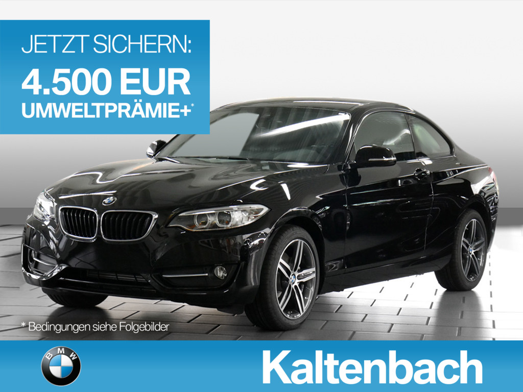 BMW 220d Coupe Sport Line,UPE48440.-,Navi,Xenon,PDC