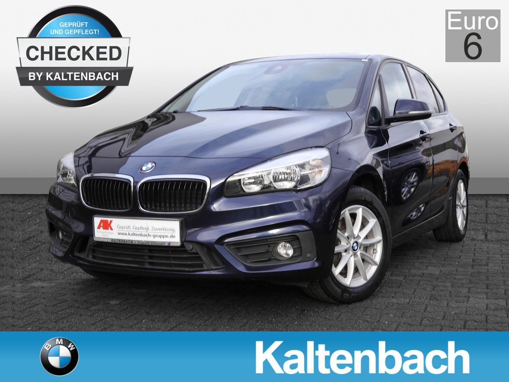 BMW 218 Active Tourer USB KLIMA PANORAMA PDC AHK EU6