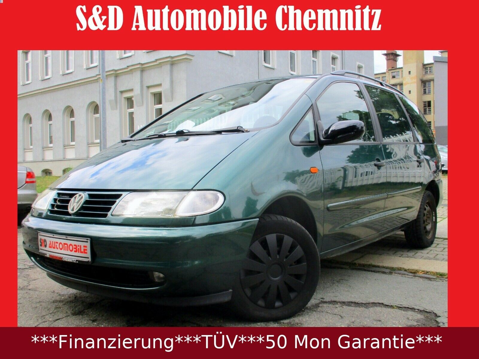 VW Sharan 2.8 VR6 Comfortline Family