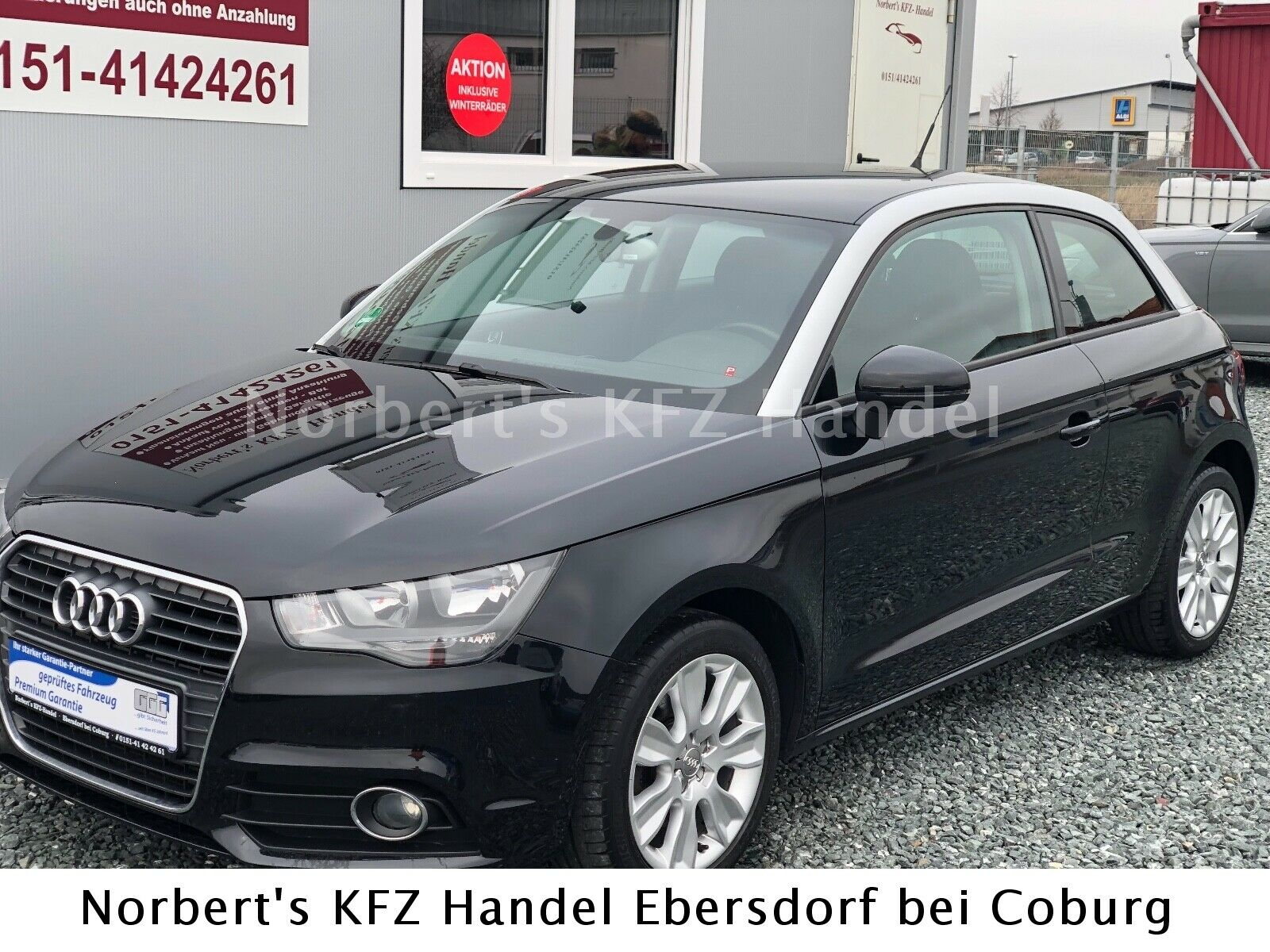 AUDI A1 Attraction EURO5     1 Jahr Garantie TÜV Neu